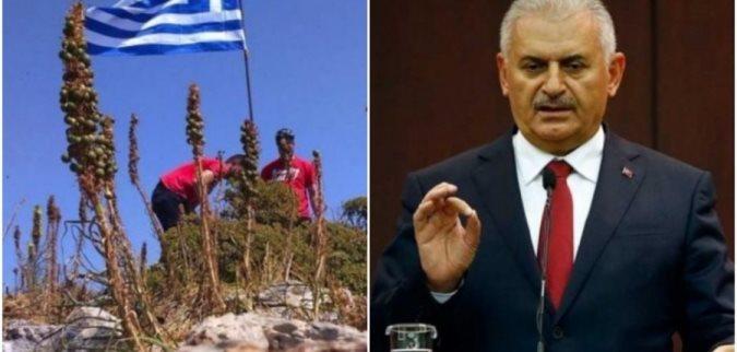 """Kryeministri turk thotë """"kemi hequr flamurin grek nga ishulli në Egje"""""""