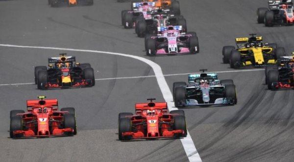 E katranos Ferrari, Riccciardo fiton në Kinë