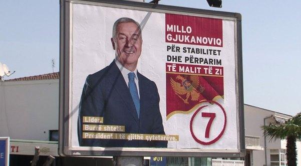 Mali i Zi zgjedh sot presidentin, shqiptarët mbështesin Gjukanoviqin