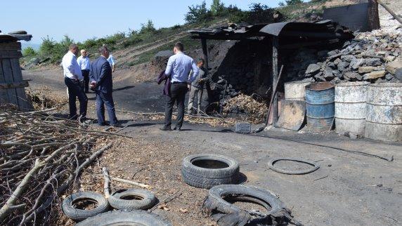 Ndalohet puna e një furre të gëlqeres në Malishevë
