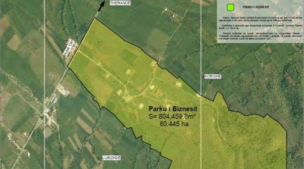 Kthehet në rivlerësim prokurimi për infrastrukturën e Parkut të Biznesit në Prizren