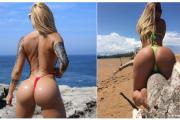 Foto+18/Kjo është femra me të pasmet më seksi në botë