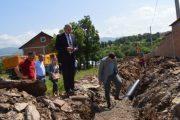 Nis ndërtimi i një pjese të kanalizimit në Banjë të Malishevës