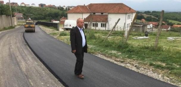 Rahoveci përmirëson infrastrukturorën rrugore