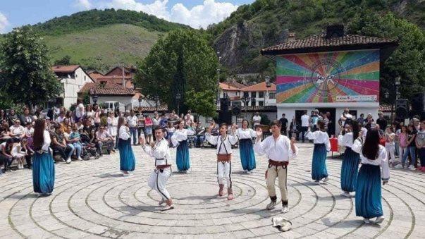 Pano e jashtëligjshme në objektin e Lidhjes së Prizrenit