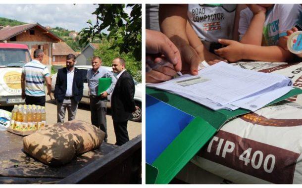 Për herë të parë në Prizren, komuna shpërndan pako ushqimore për familjet skamnore (Foto)