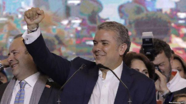 Ivan Duque, president i i ri i Kolumbisë