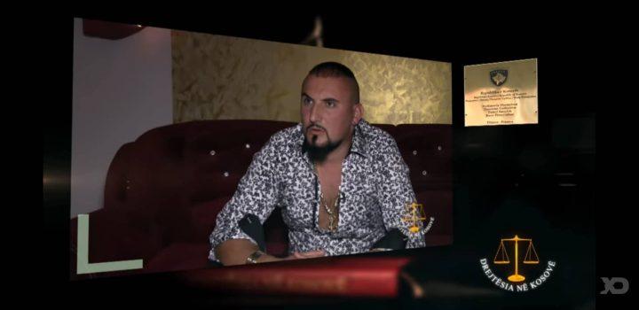 """Pronari i """"Kobra City"""" në Prizren, Dibran Hoxha sillet i prangosur nga policia (video)"""