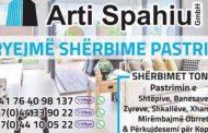 ARTI SPAHIU – Kompania pastruese – higjienike në Rahovec dhe Prizren