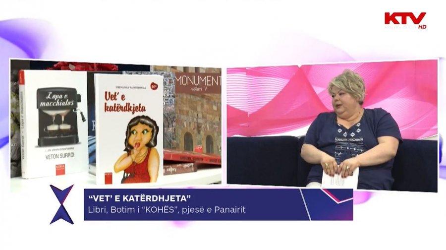 """Drenusha Zajmi-Hoxha shpalos detajet rreth librit të saj """"Vet' e katërdhjeta"""""""