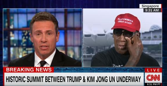 Ish-basketbollisti i njohur qan pas takimit të Trump me Kim (VIDEO)
