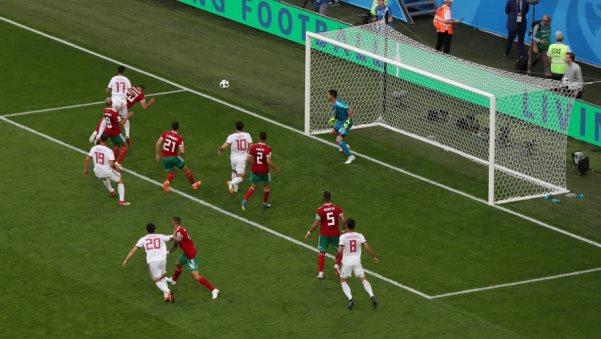 Irani mposht Marokon në minutat e fundit