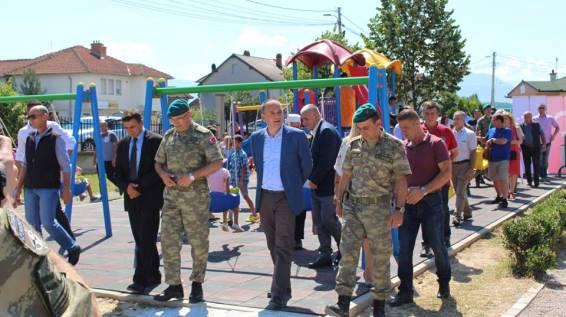 Përurohet fusha e re sportive në Piranë