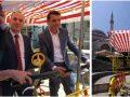 Kryetari Haskuka dhe ministri Gashi bashkë në një biçikletë