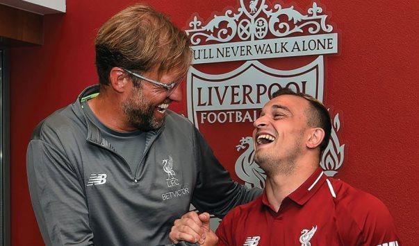 Liverpool sot e nis edicionin e ri, Shaqiri në bankën rezervë