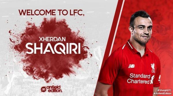 Blick: Xherdani Shaqiri është lojtar i ri i Liverpoolit