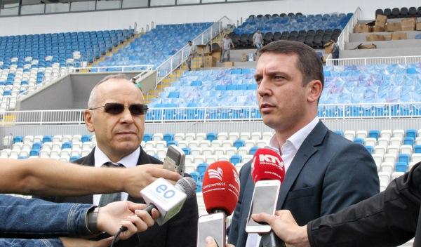 Ministri Gashi: Ndeshja testuese në stadiumin e Prishtinës më 28 korrik