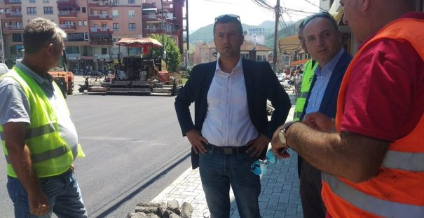 """Haskuka inspekton punimet në rrugën """"Ahmet Prishtina"""" dhe """"Flamuri"""""""