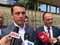 Gashi merr pjesë në vendosjen e gurthemelit të Pishinës Olimpike në Prizren, e cilëson projekt të rëndësishëm kapital