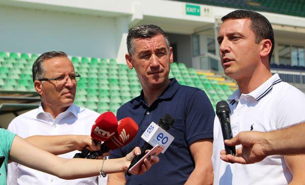 """Në Stadiumin """"Adem Jashari"""" në Mitrovicë do të investohen rreth 10 milionë euro"""