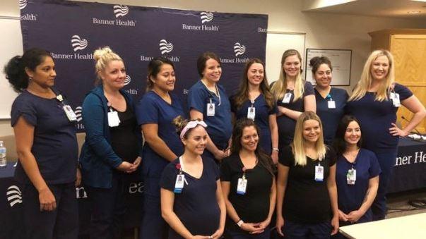 Në të njëjtën kohë, 16 infermiere mbeten shtatzënë në spitalin amerikan
