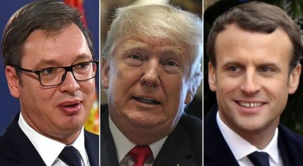 Vuçiq në ofensivë diplomatike – takime me Trump, Putin, Macron e Jinping