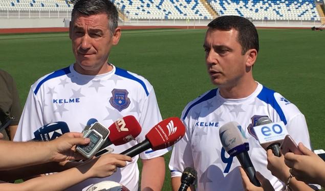 Veseli dhe Gashi mburren me stadiumin 'Fadil Vokrri'