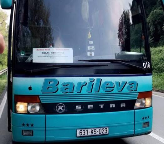 Një autobus i Kosovës sulmohet në Serbi
