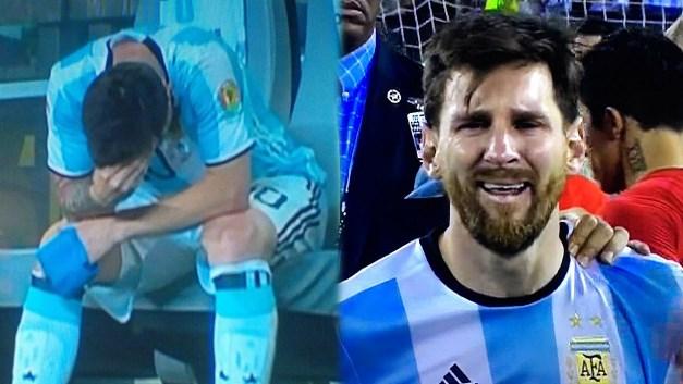 """""""E gjeta Messin të vetëm duke qarë si fëmijë"""""""