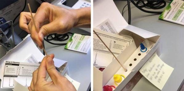 STREP TEST për herë të parë në qendrat e mjekësisë familjare në Prizren