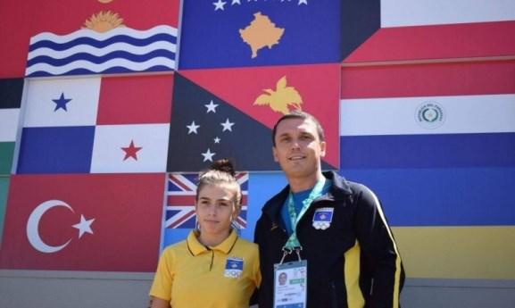 Gashi për medaljen e bronztë, urime Kosovë !