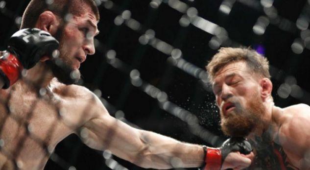 Khabib e mposht McGregorin në një ngjarje që u prish nga skena të shëmtuara