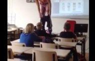VIDEO-Skandal/ Mësuesja zhvishet para klasës, e filmoi një nga nxënësit