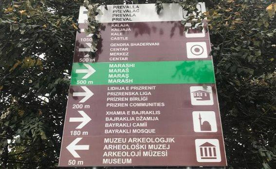 Komuna e Prizrenit do t'i përmirësojë shenjëzimet e gabuara të monumenteve