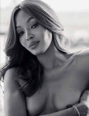 Pozon nudo, 46-vjeçarja Naomi Campbell është gjithmonë seksi