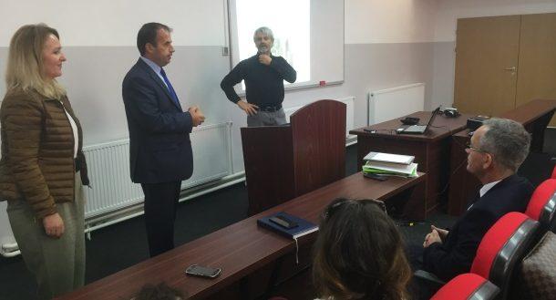 Albanologu, Robert Pichler mbajti ligjëratë në UPZ