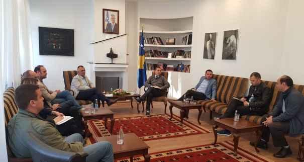 Ministri Kujtim Gashi përkrahë mediat për të qenë pjesë e Ligjit të Sponsorizimit