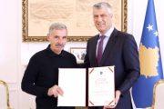 Presidenti Thaçi dekoron me Medaljen e Pavarësisë, Selim Krasniqin