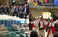 """KFOR-i turk investon në shkollën """"Emin Duraku"""" të Prizrenit  (Foto)"""