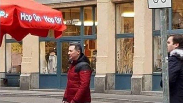 U zhduk një kohë, kapet Gruevski në rrugët e Budapestit