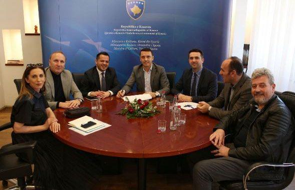 Ministri Gashi nënshkruan Rregulloren për Këshillin Drejtues të Muzeut