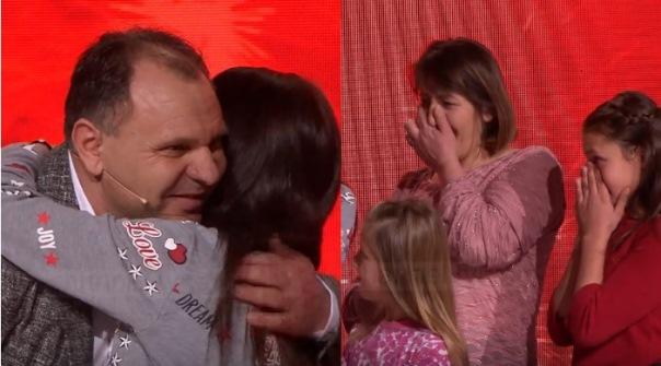 Lot gëzimi, biznesmeni Shaqir Palushi nga Suhareka, dhuron një shtëpi familjes shqiptare live në emision