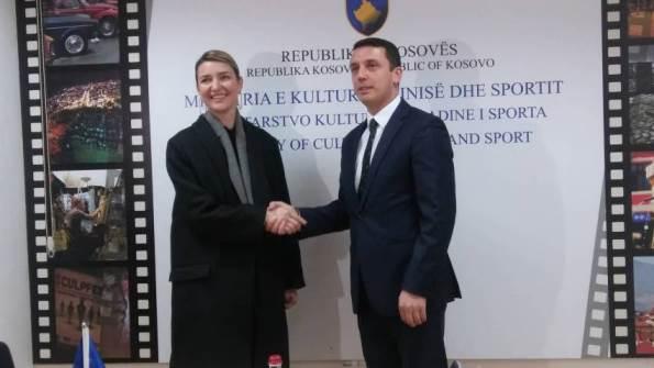 Gashi në Prizren takon homologen nga Shqipëria, Elva Margariti