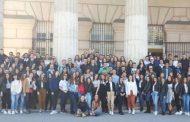 """Maturantët e Gjimnazit """"Loyola"""" vizitojnë selinë e OKB-së në Vjenë"""
