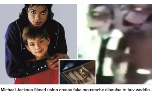 Michael Jackson shfaqet duke blerë unazë martese me një fëmijë
