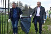 Kryetari i Prizrenit dhe  Suharekës me aksion të përbashkët të pastrimit