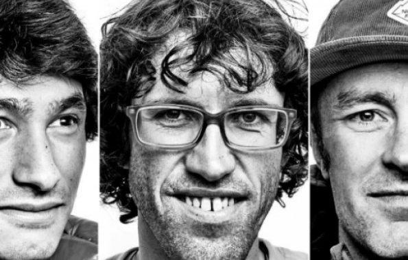 Vdesin tre alpinistë në malet kanadeze