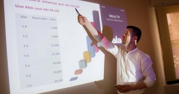 Bedri Istrefi flet për suksesin e Vala Tv: 150 mijë shkarkime për një javë, 90.000 përdorues