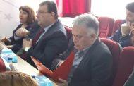 U.d. Rektori i UPZ-së,mori pjesë në takimin koordinues me MASHT, ERASMUS+ dhe universitetet