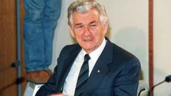 Vdes ish kryeministri australian, Bob Hawke